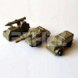 Eshel - Eshel Askeri Araçlar 1/200 3lü (1)