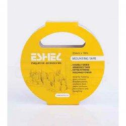 Eshel - Eshel Bant-Çift Taraflı Maket Yapıştırıcı 10 m x 20mm Paket İçi:1