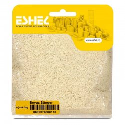 Eshel - Eshel Beyaz Sünger Paket İçi:20 gr