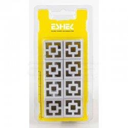 Eshel - Eshel Dekoratif Geometrik Tuğla 1/12 2.5x2.5cm