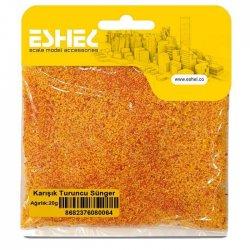 Eshel - Eshel Karışık Turuncu Sünger Paket İçi:20 gr