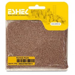 Eshel - Eshel Kırmızı Kum Paket İçi:100 gr