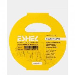 Eshel - Eshel Köpük Bant-Çift Taraflı Maket Yapıştırıcı 24 m x 3,5mm Paket İçi:1