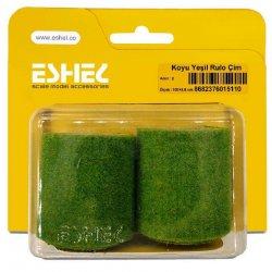 Eshel - Eshel Koyu Yeşil Rulo Çim Maketi 100×5,5cm 2li