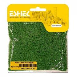 Eshel - Eshel Koyu Yeşil Sünger Paket İçi:20g