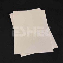 Eshel - Eshel Krem Beyaz Pleksiglas 3mm 300x400x3mm Paket İçi:1