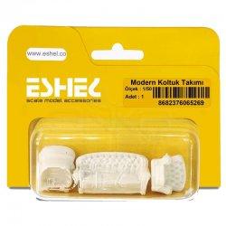 Eshel - Eshel Modern Koltuk Takımı Maketi 1-50 1li