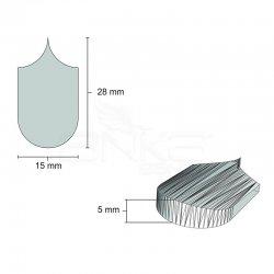 Eshel - Eshel Pul Çatı Kiremiti 1/12 4.81x2.7x1.6cm (1)