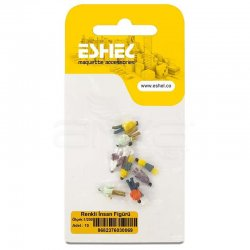 Eshel - Eshel Renkli İnsan Figürü 1-200 Paket İçi:10