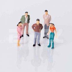 Eshel - Eshel Renkli İnsan Figürü 1-200 Paket İçi:10 (1)