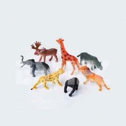 Eshel - Eshel Renkli Yabani Hayvanlar Maketi 1-100 4lü (1)