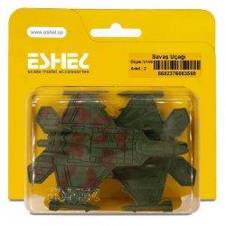 Eshel - Eshel Savaş Uçağı 1-100 Paket İçi:2