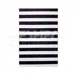 Eshel - Eshel Siyah-Beyaz Kenar Kaldırım Taşı 1-100 Paket İçi:2 (1)