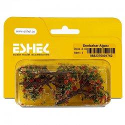 Eshel - Eshel Sonbahar Ağacı 4cm Paket İçi:3