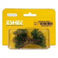 Eshel - Eshel Sonbahar Ağacı 5cm Paket İçi:2