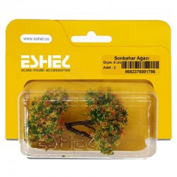 Eshel - Eshel Sonbahar Ağacı 6cm Paket İçi:2