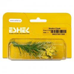 Eshel - Eshel Strafor Çiçek 8cm Paket İçi:3 (1)