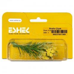 Eshel - Eshel Strafor Çiçek 8cm Paket İçi:3