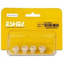 Eshel - Eshel Taş Saksı 1-100 Paket İçi:4