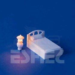 Eshel - Eshel Tek Kişilik Yatak Ve Abajur 1-50 Paket İçi:1 (1)