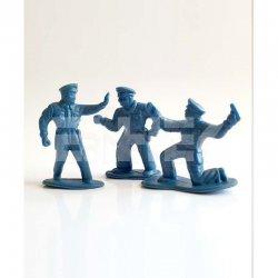 Eshel - Eshel Tek Renk Polis Figürü 1/50 3lü (1)