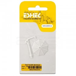 Eshel - Eshel Tek Taraflı Şemsiye 1-50 Paket İçi:1