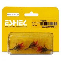 Eshel - Eshel Yaprak Maketi 2,5cm 3lü