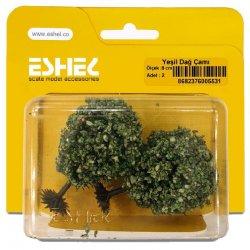 Eshel - Eshel Yeşil Dağ Çamı 8cm Paket İçi:2