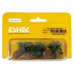 Eshel - Eshel Yuvarlak Palmiye 4cm Paket İçi:3