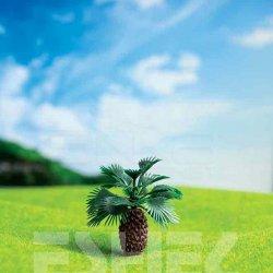 Eshel - Eshel Yuvarlak Palmiye Ağacı Maketi 3cm 3lü