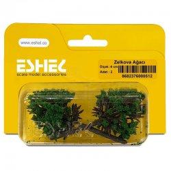 Eshel - Eshel Zelkova Ağacı 6cm Paket İçi:2