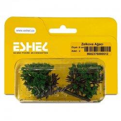 Eshel - Eshel Zelkova Ağacı 6cm Paket İçi:2 (1)