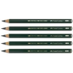 Faber Castell - Faber Castell 9000 Dereceli Jumbo Kurşun Kalem (1)
