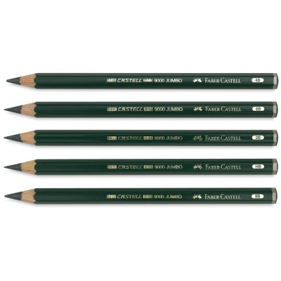 Faber Castell 9000 Dereceli Jumbo Kurşun Kalem