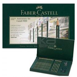 Faber Castell 9000 Dereceli Kalem Anniversary Set - Thumbnail