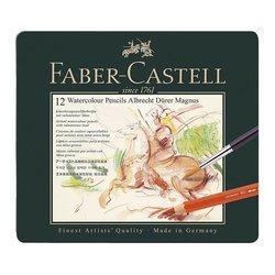 Faber Castell - Faber Castell Albrecht Dürer Magnus Aquarelle Boya Kalemi 12li Set (1)