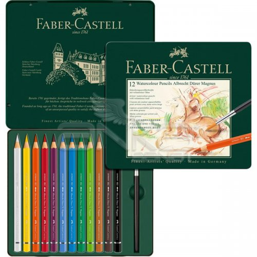Faber Castell Albrecht Dürer Magnus Aquarelle Boya Kalemi 12li Set