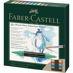 Faber Castell - Faber Castell Albrecht Dürer Watercolor Marker 10 Renk (1)