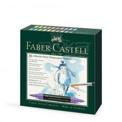 Faber Castell - Faber Castell Albrecht Dürer Watercolor Marker 20 Renk (1)