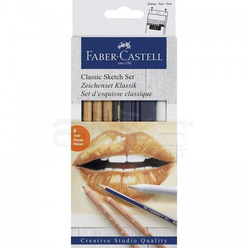 Faber Castell Classic Sketch Set 6lı