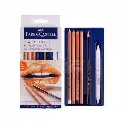 Faber Castell - Faber Castell Classic Sketch Set 6lı (1)