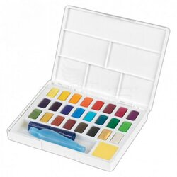 Faber Castell Creative Studio Tablet Sulu Boya 24 Renk 169724 - Thumbnail