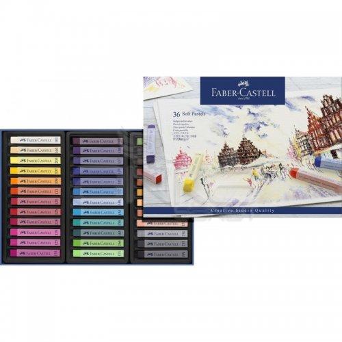 Faber Castell Creative Studio Tam Boy Soft Pastel 36lı