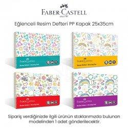 Faber Castell - Faber Castell Eğlenceli Resim Defteri PP Kapak 25x35cm