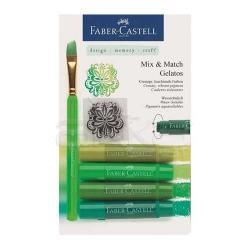 Faber Castell - Faber Castell Gelatos Mum Boya Setler (1)