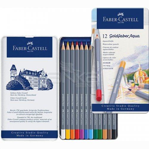Faber Castell Goldfaber Aqua Renkli Boya Kalemi 12li Set 114612