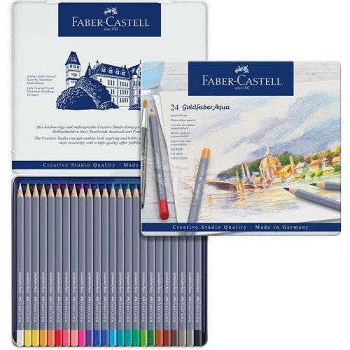 Faber Castell Goldfaber Aqua Renkli Boya Kalemi 24lü Set 114624
