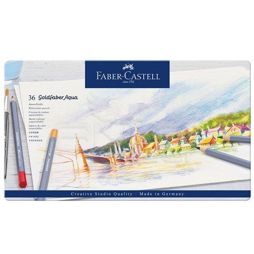 Faber Castell Goldfaber Aqua Renkli Boya Kalemi 36lı Set 124636