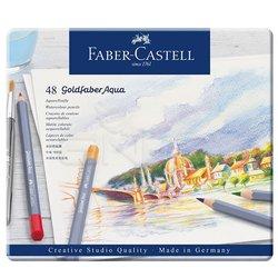 Faber Castell - Faber Castell Goldfaber Aqua Renkli Boya Kalemi 48li (1)