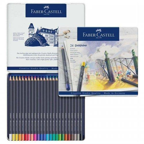 Faber Castell Goldfaber Renkli Boya Kalemi 24lü Set 114724